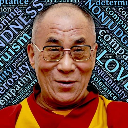 Imagen del Dalai Lama