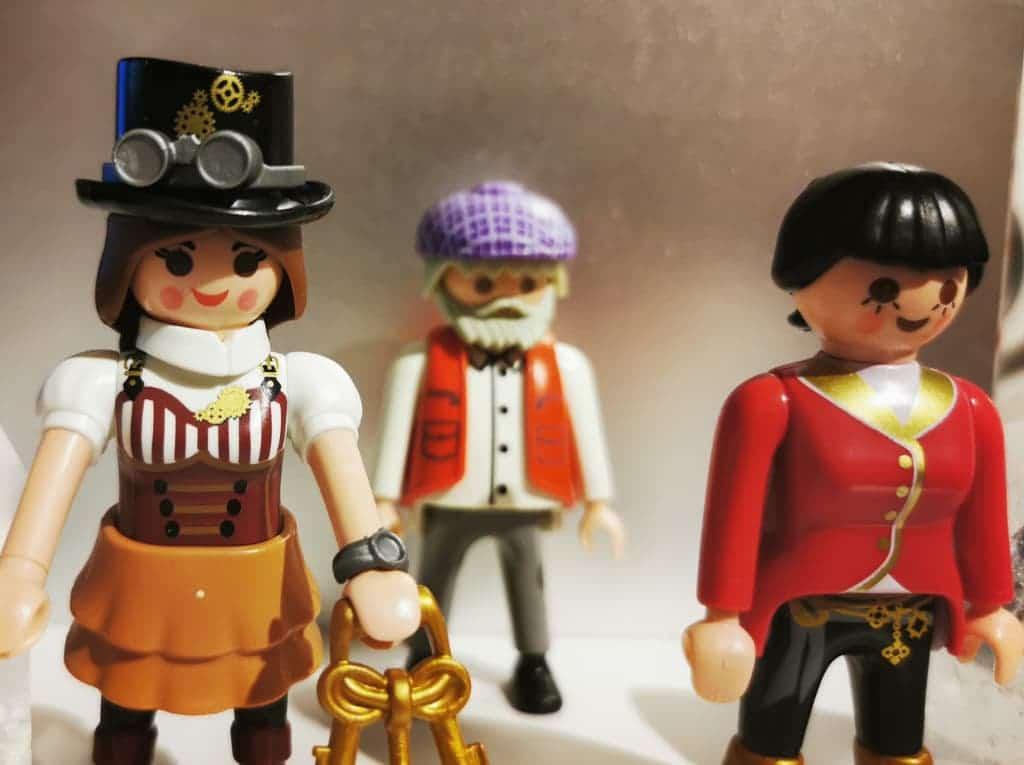 Muñecos Playmobil como herramienta